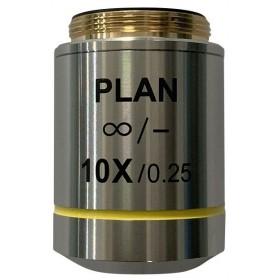 Объектив планахроматический Levenhuk MED 10x/беск официальный дилер Levenhuk