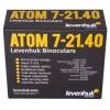 Бинокль Levenhuk Atom 7–21x40 представитель Levenhuk в России