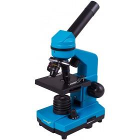 Микроскоп Levenhuk Rainbow 2L Azure\Лазурь представитель Levenhuk в России