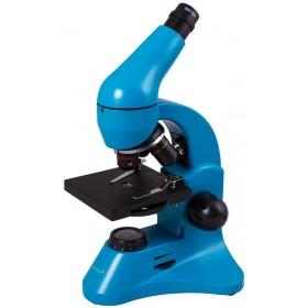 Микроскоп Levenhuk Rainbow 50L PLUS Azure\Лазурь представитель Levenhuk в России