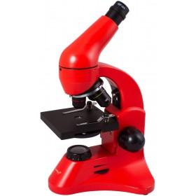 Микроскоп Levenhuk Rainbow 50L PLUS Orange\Апельсин представитель Levenhuk в России