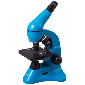Микроскоп Levenhuk Rainbow 50L Azure\Лазурь представитель Levenhuk в России