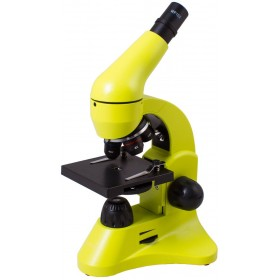 Микроскоп Levenhuk Rainbow 50L Lime\Лайм представитель Levenhuk в России