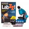Микроскоп Levenhuk LabZZ M101 Azure\Лазурь представитель Levenhuk в России