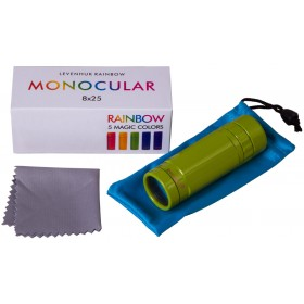 Монокуляр Levenhuk Rainbow 8x25 Lime