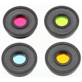 Набор светофильтров Bresser Essential, 1,25 (красный, зеленый, синий, желтый) представитель Levenhuk в России