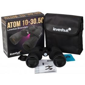 Бинокль Levenhuk Atom 10-30x50