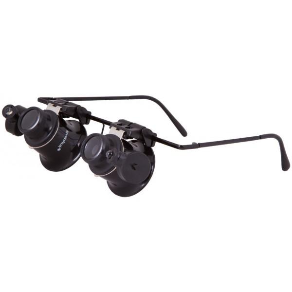Лупа-очки Levenhuk Zeno Vizor G2 представитель Levenhuk в России