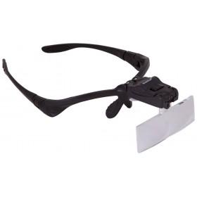 Лупа-очки Levenhuk Zeno Vizor G3 официальный дилер Levenhuk