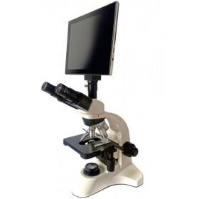 Микроскоп цифровой Levenhuk dAF2 Trino 40x-1000x, 12 Мпикс, ЖК-экран представитель Levenhuk в России