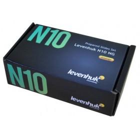 Набор готовых микропрепаратов Levenhuk N10 NG официальный дилер Levenhuk