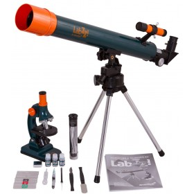 Набор Levenhuk LabZZ MT2: микроскоп и телескоп официальный дилер Levenhuk