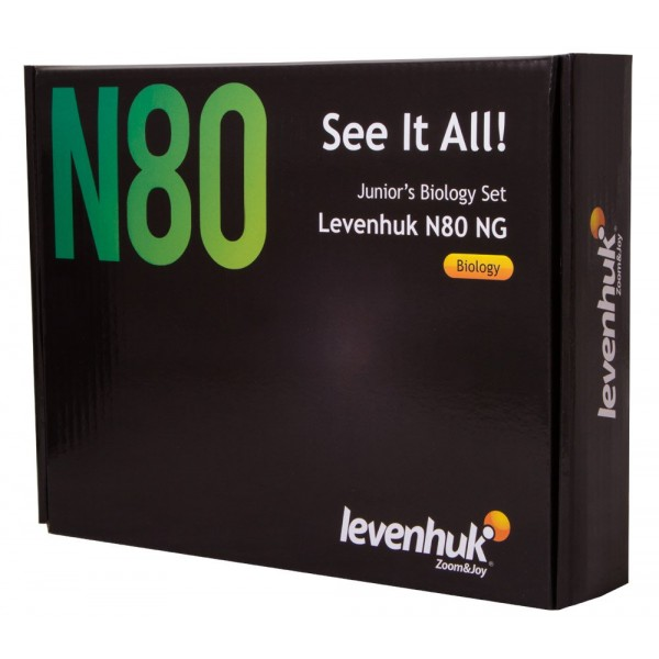Набор микропрепаратов Levenhuk N80 NG Увидеть все! представитель Levenhuk в России
