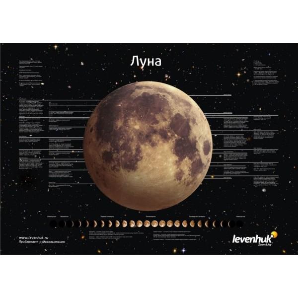 Постер Levenhuk Луна представитель Levenhuk в России