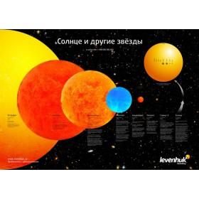Постер Levenhuk Солнце и другие звезды официальный дилер Levenhuk