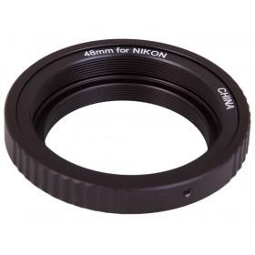 Т-кольцо Sky-Watcher для камер Nikon M48 представитель Levenhuk в России