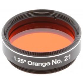 Светофильтр Explore Scientific оранжевый №21, 1,25 представитель Levenhuk в России