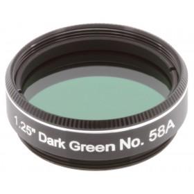 Светофильтр Explore Scientific темно-зеленый №58A, 1,25 официальный дилер Levenhuk