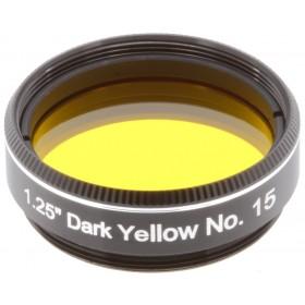 Светофильтр Explore Scientific темно-желтый №15, 1,25 представитель Levenhuk в России