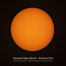 Солнечный фильтр Explore Scientific для телескопов 80–102 мм
