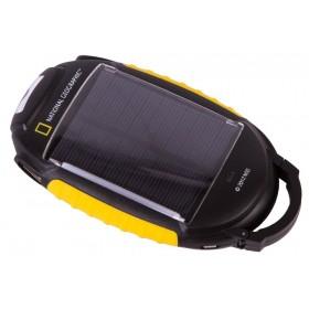 Зарядное устройство Bresser National Geographic 4-в-1 на солнечных батареях официальный дилер Levenhuk