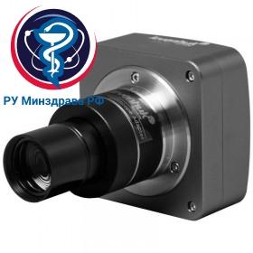 Микроскоп цифровой Levenhuk MED D35T, тринокулярный