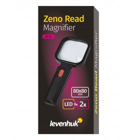 Лупа для чтения Levenhuk Zeno Read ZR10, черная