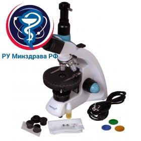 Микроскоп поляризационный Levenhuk 500T POL, тринокулярный