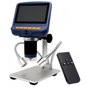 Микроскоп с дистанционным управлением Levenhuk DTX RC1 представитель Levenhuk в России