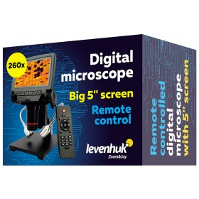 Микроскоп с дистанционным управлением Levenhuk DTX RC3