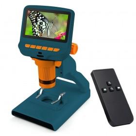 Микроскоп цифровой Levenhuk LabZZ DM200 LCD официальный дилер Levenhuk