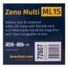Мультилупа Levenhuk Zeno Multi ML15, белая представитель Levenhuk в России