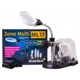 Мультилупа Levenhuk Zeno Multi ML17, черная