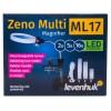 Мультилупа Levenhuk Zeno Multi ML17, черная представитель Levenhuk в России