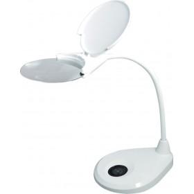 Лупа-лампа Levenhuk Zeno Lamp ZL13, белая официальный дилер Levenhuk