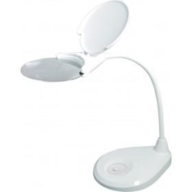 Лупа-лампа Levenhuk Zeno Lamp ZL7, белая официальный дилер Levenhuk