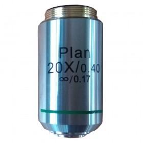 Объектив планарный Levenhuk MED 1000 20x/0,40 официальный дилер Levenhuk