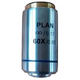 Объектив планарный Levenhuk MED 1000 60xs/0,85 официальный дилер Levenhuk