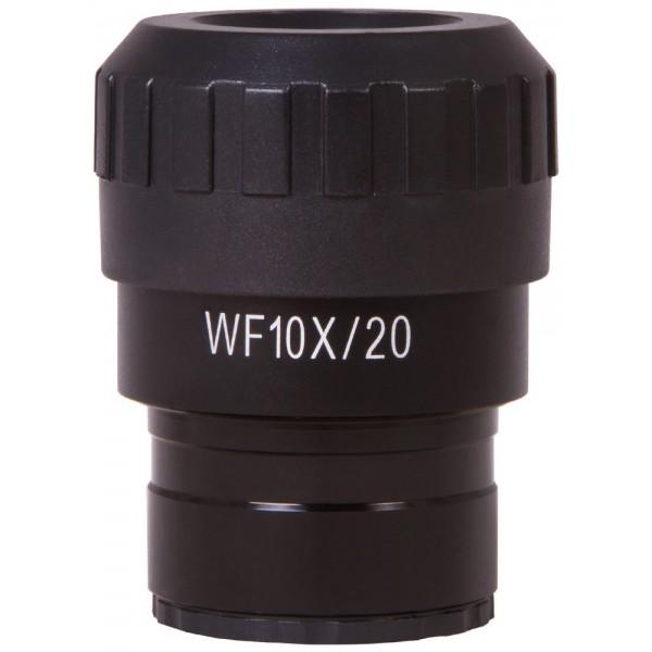 Окуляр Levenhuk MED WF10x/20 с перекрестьем и шкалой представитель Levenhuk в России