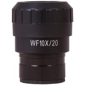 Окуляр Levenhuk MED WF10x/20 с указателем и диоптрийной коррекцией представитель Levenhuk в России