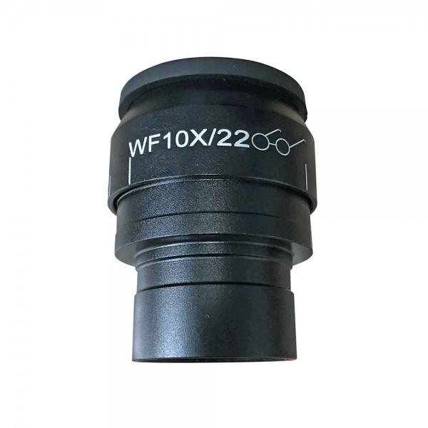 Окуляр Levenhuk MED WF10x/22 с диоптрийной коррекцией представитель Levenhuk в России
