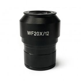 Окуляр Levenhuk MED WF20x/12 с диоптрийной коррекцией представитель Levenhuk в России